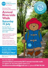 Paddington on Annual Riverside Walk