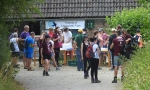 2018_03 Annual Riverside Walk at Chesworth Farm first stop3_14 July2018_DV